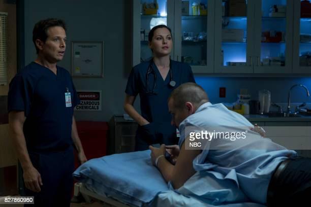 SHIFT Keep The Faith Episode 407 Pictured Scott Wolf as Scott Clemmens Josh Kelly as Xavier Arnold Jill Flint as Jordan Alexander