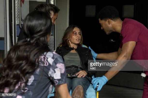 SHIFT 'Keep The Faith' Episode 407 Pictured Yvonne Valdez as Ananya JR Lemon as Kennt Fournette