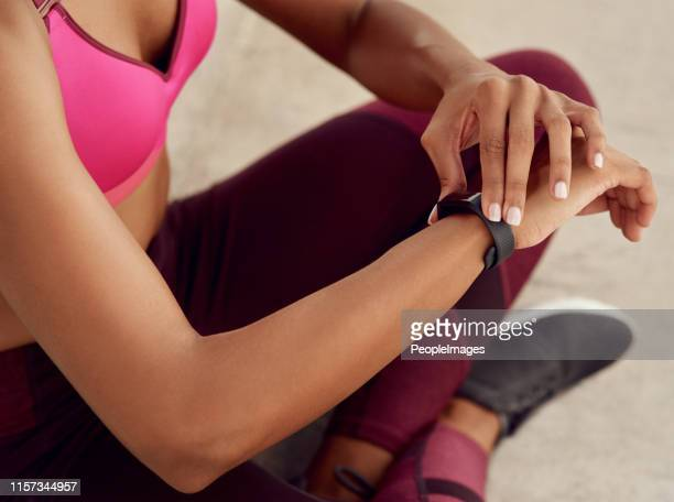 i keep track of every step i take - fitness tracker stock pictures, royalty-free photos & images