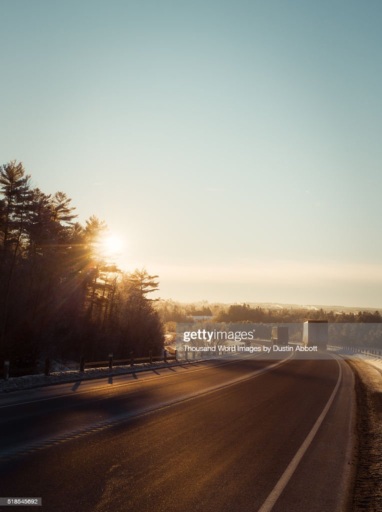 Keep Truckin' : Stock Photo