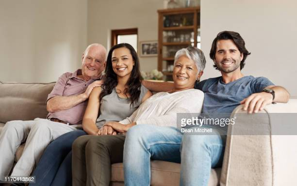 keep your family close - stepfamily stock photos and pictures