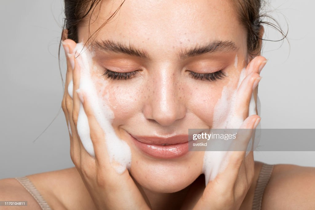 Keep your skin clean : Stock Photo