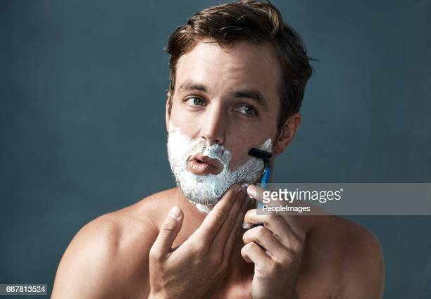 Keeping a clean shave