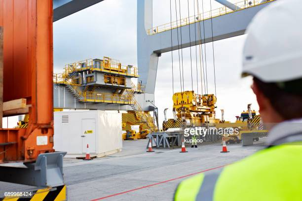 keeping a close eye on the dock - shipyard stock pictures, royalty-free photos & images