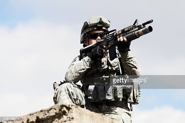 keeping a watch-out - marines military stock photos and pictures