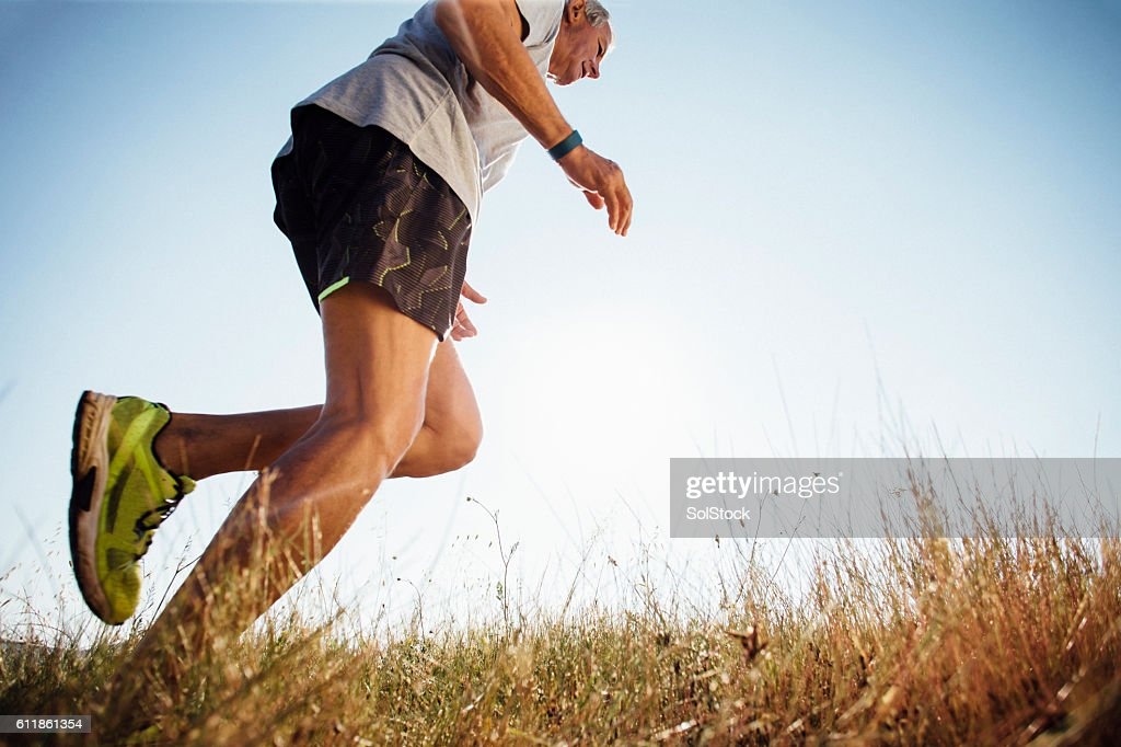 Keeping Fit in the Morning : Stock Photo