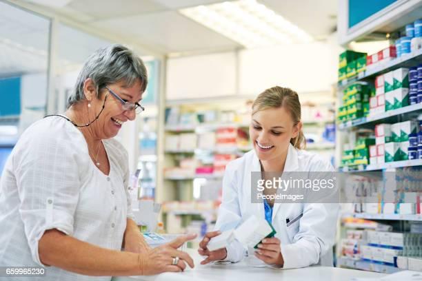 Halten Sie ihre Kunden gut informiert über ihre Medikamente