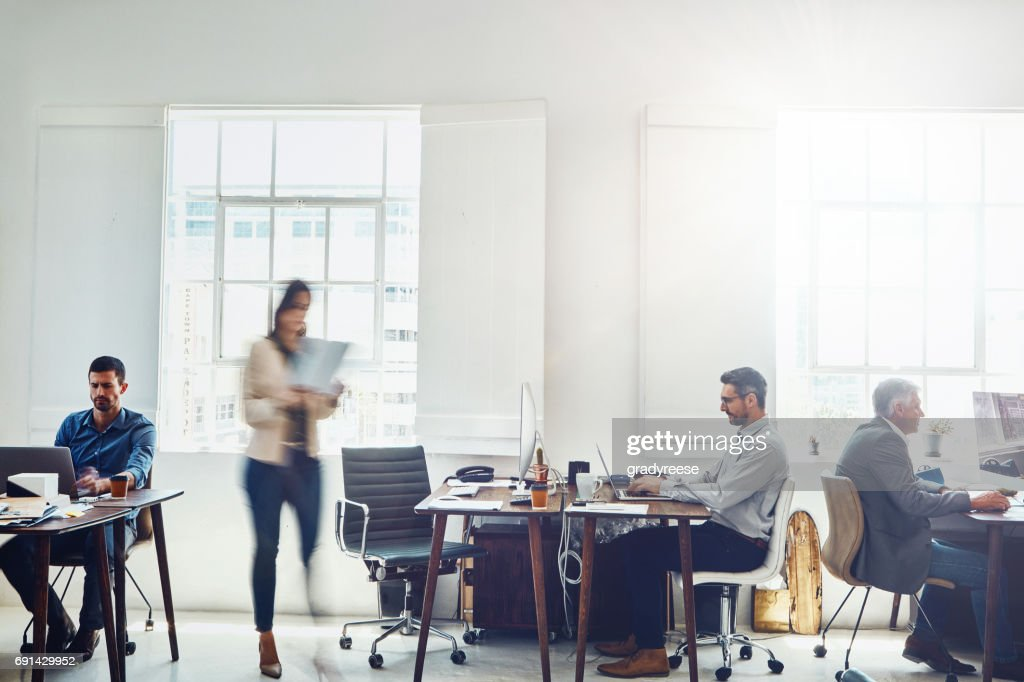 Keeping his cool amongst the chaos : Stock Photo