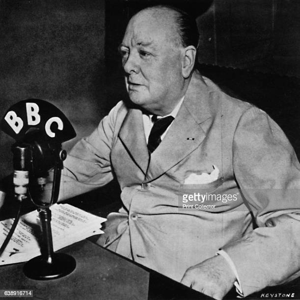 Keeping in touch with home from the White House Washington' Churchill addressed the Home Guard from the White House Washington in 1943 From Winston...