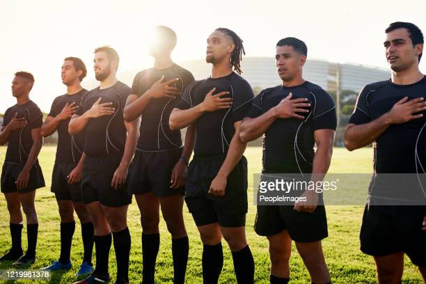 keeping national pride - south africa national rugby union team stock pictures, royalty-free photos & images