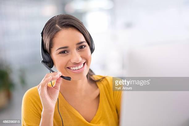 keeping the clients happy - telefoonberoep stockfoto's en -beelden