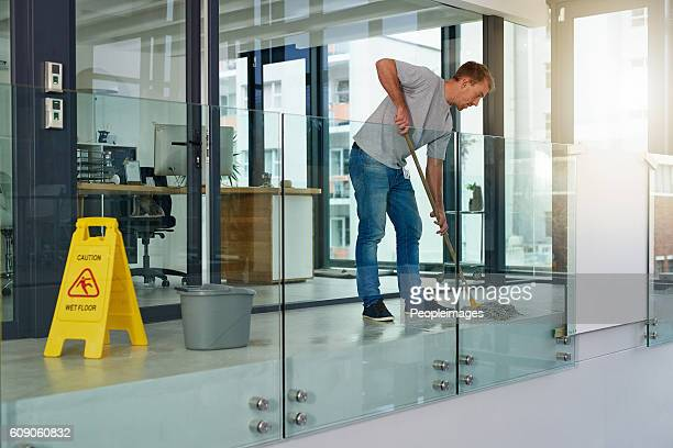 keeping the office clean - janitor stock photos and pictures