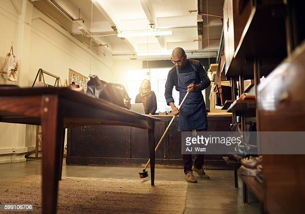 keeping the place presentable - commercial cleaning stock photos and pictures