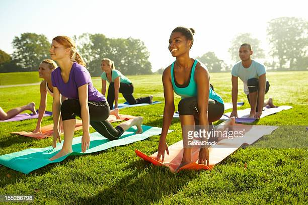 Keeping tight bodies - Yoga