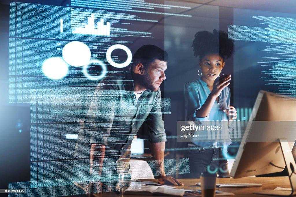 Keeping up met de moderne ontwikkelingen : Stockfoto
