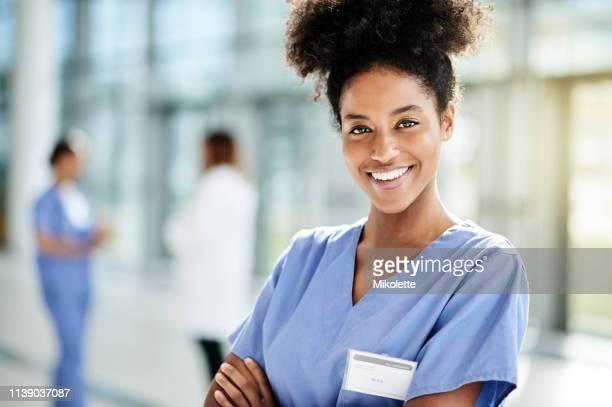 mantê-lo saudável sempre me mantém feliz - enfermeira - fotografias e filmes do acervo