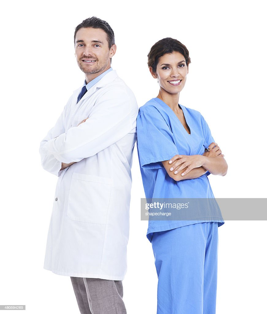 Keeping you healthy is their job : Stock Photo