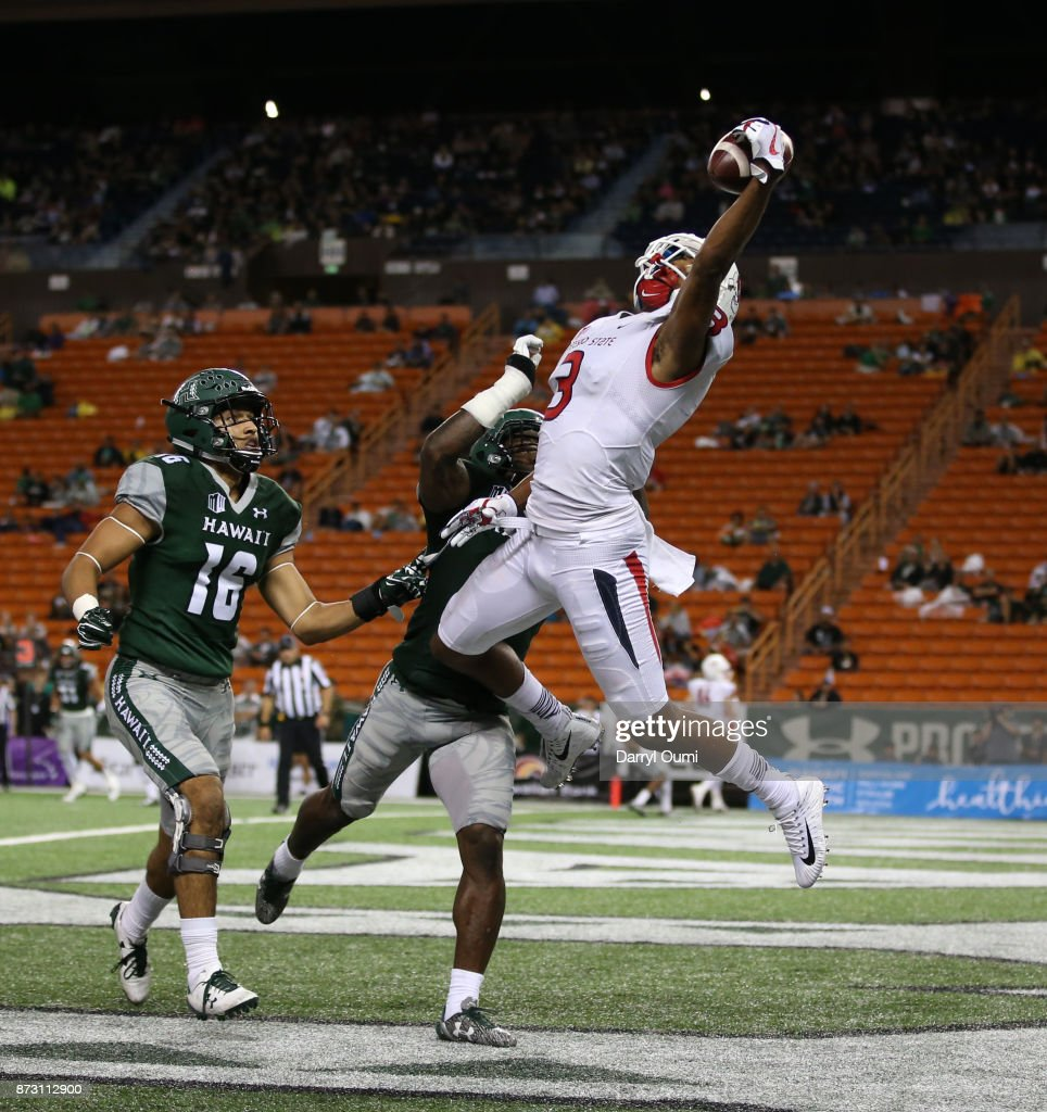 Fresno State v Hawaii : News Photo