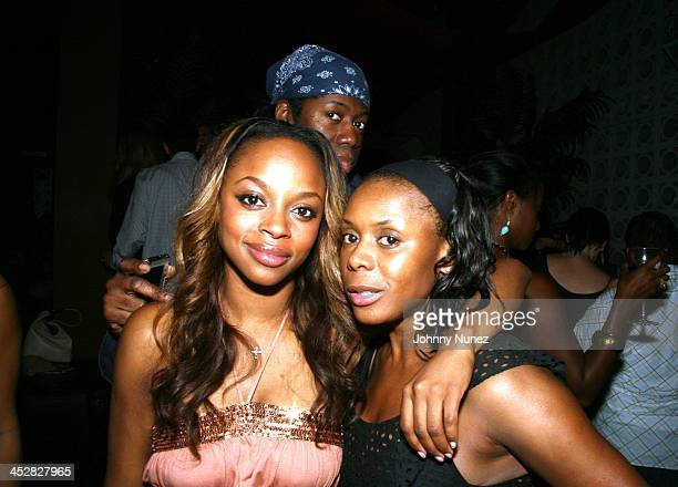 Keesha Johnson,Jay Alexander and Desiree Ejoh during BJ Coleman Birthday Party Hosted by Unik and Joyce Sevilla at Hotel Gansevort in New York City,...