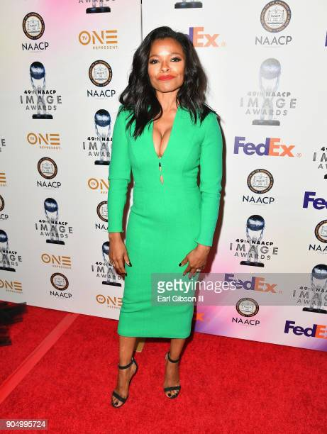 Keesha Sharp at the 49th NAACP Image Awards NonTelevised Awards Dinner at the Pasadena Conference Center on January 14 2018 in Pasadena California