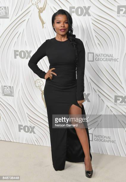 Keesha Sharp attends FOX Broadcasting Company Twentieth Century Fox Television FX And National Geographic 69th Primetime Emmy Awards After Party at...
