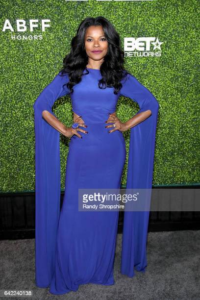 Keesha Sharp attends Pre ABFF Honors Cocktail Party hosted by Debra L Lee Jeff Friday at Cecconi's on February 16 2017 in West Hollywood California