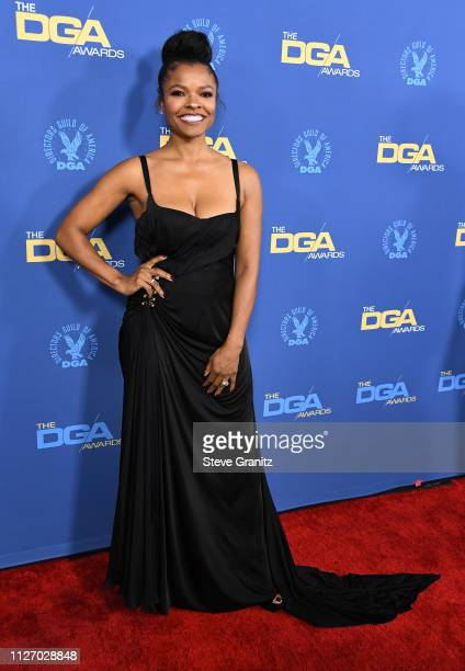Keesha Sharp attends the 71st Annual Directors Guild Of America Awards at The Ray Dolby Ballroom at Hollywood Highland Center on February 02 2019 in...