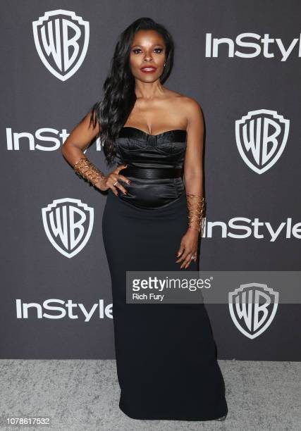 Keesha Sharp attends the InStyle And Warner Bros Golden Globes After Party 2019 at The Beverly Hilton Hotel on January 6 2019 in Beverly Hills...
