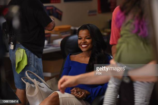 Keesha Sharp behind the scenes during the In The Same Boat season premiere episode of LETHAL WEAPON airing Tuesday Sept 25 on FOX