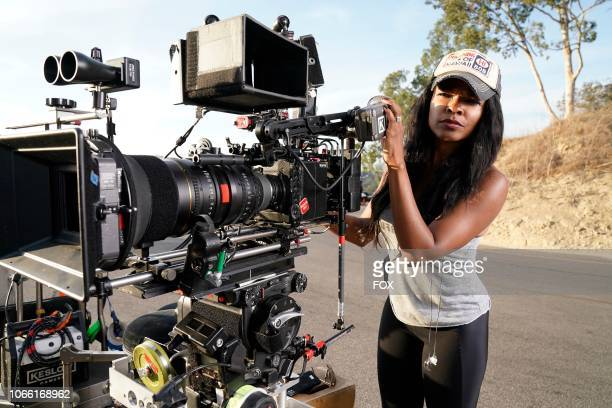 Keesha Sharp behind the scenes during the Panama episode of LETHAL WEAPON airing Tuesday Nov 6 on FOX