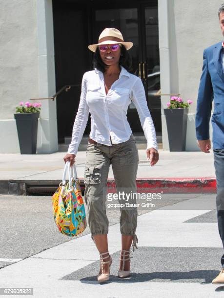 Keesha Sharp is seen on May 05 2017 in Los Angeles California