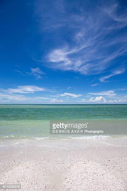 keewaydin island beach, florida - marco island stock pictures, royalty-free photos & images