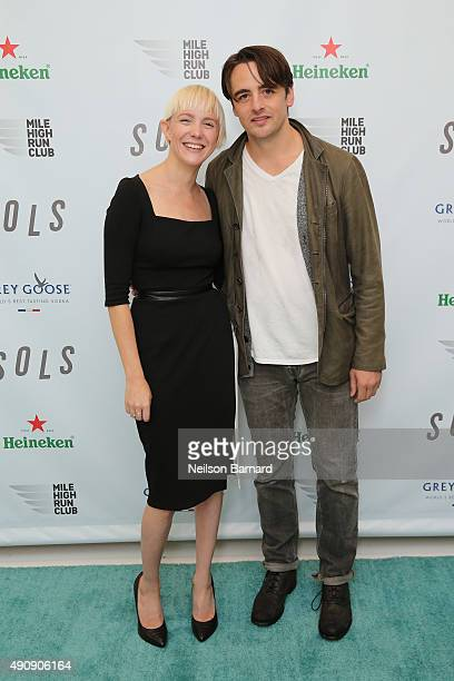 Kegan Schouwenburg SOLS Founder/CEO and actor Vincent Piazza attend the SOLS launch party for the new SOLS Flex on October 1 2015 in New York City...