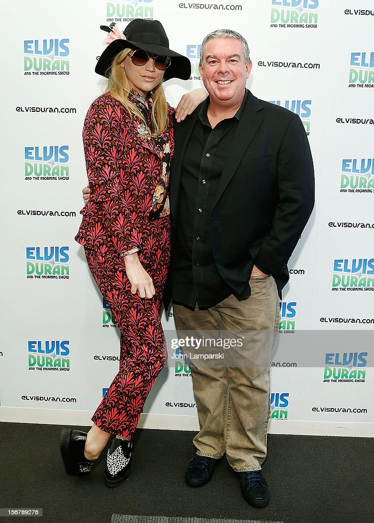 Ke$ha and Elvis Duran visits at Z100 Studio on November 20, 2012 in New York City.