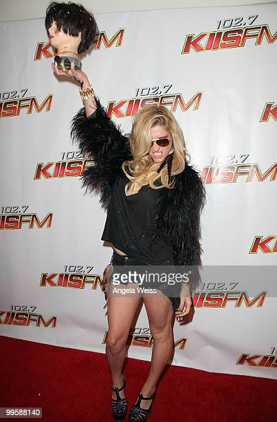 Ke$ha arrives at KIIS FM's Wango Tango 2010 at the Staples Center on May 15 2010 in Los Angeles California