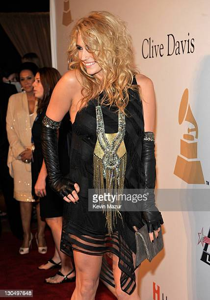 Ke$ha arrives at the 52nd Annual GRAMMY Awards Salute To Icons Honoring Doug Morris held at The Beverly Hilton Hotel on January 30 2010 in Beverly...