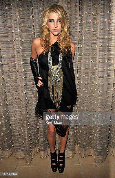 Ke$ha at the 52nd Annual GRAMMY Awards Salute To Icons Honoring Doug Morris held at The Beverly Hilton Hotel on January 30 2010 in Beverly Hills...