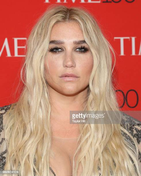 Ke$ha attends the 2018 Time 100 Gala at Frederick P Rose Hall Jazz at Lincoln Center on April 24 2018 in New York City