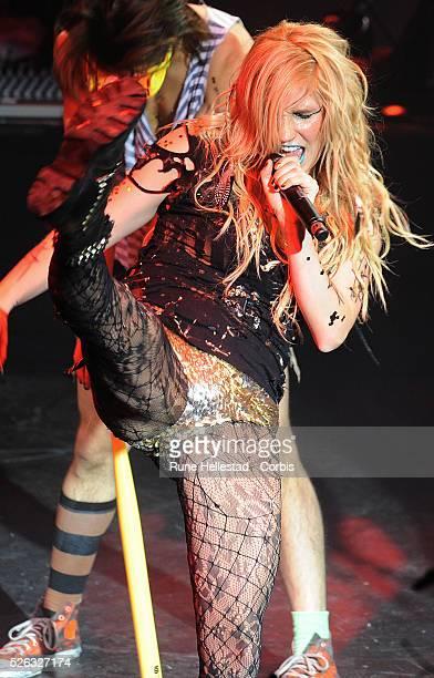 Ke$ha performs at Shepherd's Bush Empire