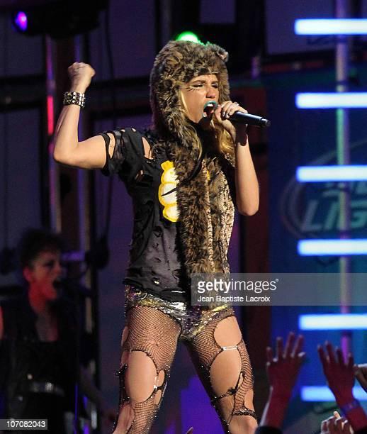 Ke$ha performs live on November 22 2010 in Los Angeles California