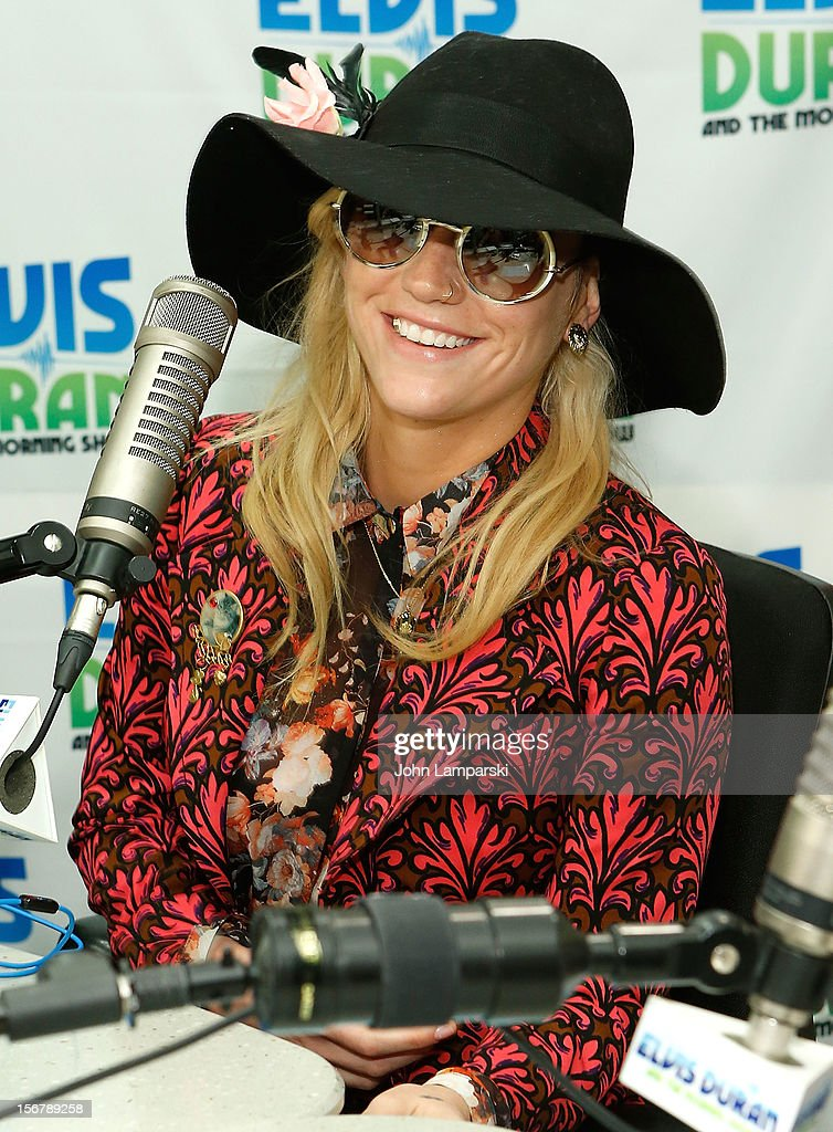 Ke$ha Visits Elvis Duran Z100 Morning Show