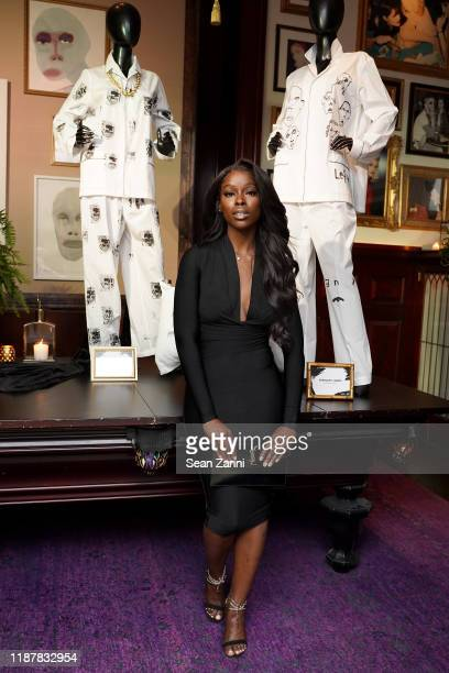 Kehinde Smith joins Swizz Beatz and the Marriott Bonvoy™ American Express® Credit Card portfolio Celebrate Women in Art on November 14 2019 in New...