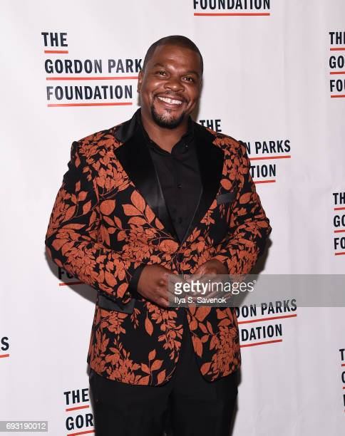 Kehinde Wiley attends the 2017 Gordon Parks Foundation Awards Gala at Cipriani 42nd Street on June 6 2017 in New York City