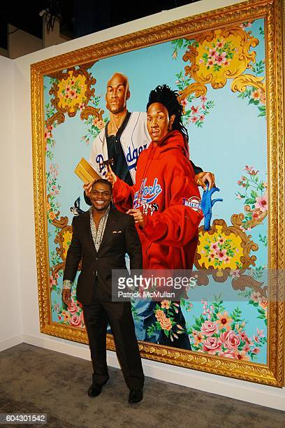 Kehinde Wiley attends THE ARMORY SHOW 2006 Opening Night Preview Party To Benefit The Exhibition Fund of The Museum of Modern Art at Piers 90 and 92...