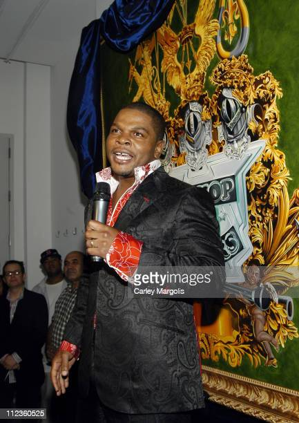 Kehinde Wiley during 2005 VH1 Hip Hop Honors - Pre-Party at Splashlight Studios in New York City, New York, United States.
