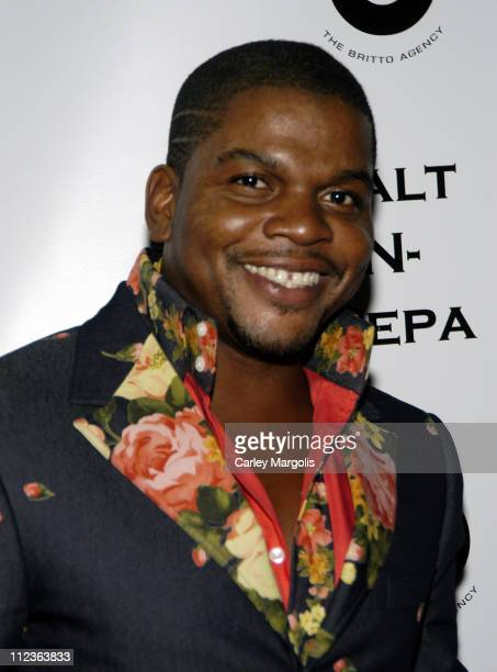 Kehinde Wiley during 2005 VH1 Hip Hop Honors - Salt-N-Pepa After Party at Taj in New York City, New York, United States.