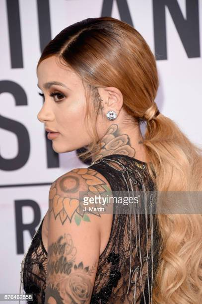 Kehlani attends 2017 American Music Awards at Microsoft Theater on November 19 2017 in Los Angeles California