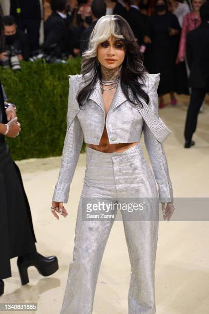 Kehlani attends 2021 Costume Institute Benefit - In America: A Lexicon of Fashion at the Metropolitan Museum of Art on September 13, 2021 in New York...