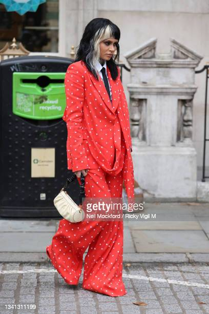 Kehlani attends Erdem at The British Museum during London Fashion Week September 2021 on September 19, 2021 in London, England.
