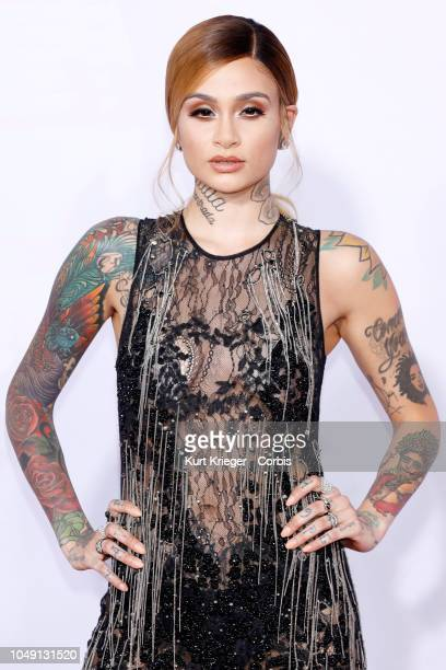 Kehlani attends the 2017 American Music Awards at Microsoft Theater on November 19 2017 in Los Angeles California United States